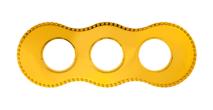 BF8-630-31 Bironi Рамка трехместная, Металл золото