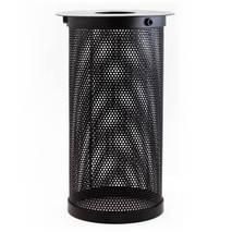 Плафон WL72 D100 Металлическая сетка, цвет черный 058-575