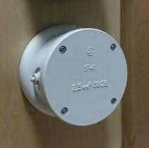 Interior Electric распределительная коробка IE, 83*40, ABS пластик белая арт. РКПИЭ-01