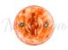 Выключатель фарфоровый поворотный на четыре положения (2-х клавишный, D70x60), цвет - темный мрамор, МезонинЪ GE70401-211