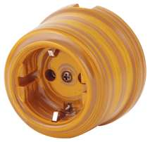 080-408 Розетка Иперадор электрическая керамическая. С заземляющим контактом.240V, 16A.