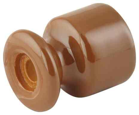 Кабельный изолятор молочный шоколад 120-МШ Lindas