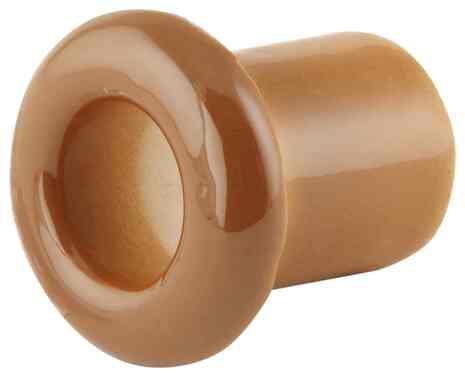 Втулка (проход) керамическая молочный шоколад 130-МШ Lindas