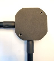 """Коннектор 20 мм., для прводки из труб """"Черный муар"""" PETRUCCI 77ST4"""