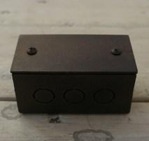 Коробка распределительная малая Состаренный металл Villaris-Loft GBQ 4824222