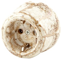 080-255 Розетка электрическая Опера фантастико Керамическая с заземляющим контактом. 240V, 16A.