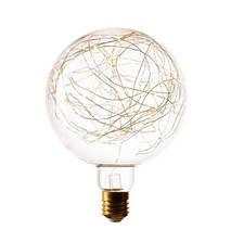 Лампа LED G200 Starry, Декоративная светодиодная лампа серии STARRY. 120LED, 2200K, 5W, E27, 220V, 350lm 057172