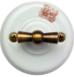 Выключатель 1-кл (проходной) OP11UZ 2-х позиционный для наружного монтажа, узор1