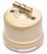 Выключатель 1-кл (проходной) OP11GD 2-х позиционный для наружного монтажа, бежевый0