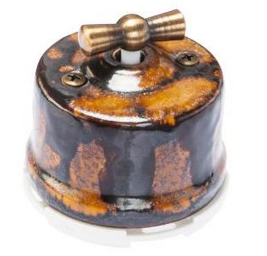 Выключатель 1-кл (проходной) OP11EX 2-х позиционный для наружного монтажа, экзотик