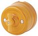 080-927 Выключатель Имперадор проходной двухклавишный, керамический. 240V, 10A.0