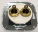 CL51WT Выключатель тумблерныйный 4-х позиционный для внутреннего монтажа проходной, белый1
