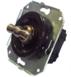 CL21BR Выключатель 4-х позиционный для внутреннего монтажа оконечный (Двухклавишный), коричневый0