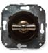 CL21BR Выключатель 4-х позиционный для внутреннего монтажа оконечный (Двухклавишный), коричневый2