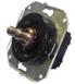 CL21BL Выключатель 4-х позиционный для внутреннего монтажа оконечный (Двухклавишный), черный0