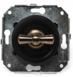 CL21BL Выключатель 4-х позиционный для внутреннего монтажа оконечный (Двухклавишный), черный2