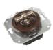 CL21WG Выключатель 4-х позиционный для внутреннего монтажа оконечный (Двухклавишный), венге0