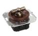 CL31CH Выключатель перекрестный для внутреннего монтажа, вишня0