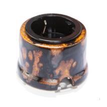 OP12EX Розетка с заземлением и шторками для наружного монтажа, экзотик
