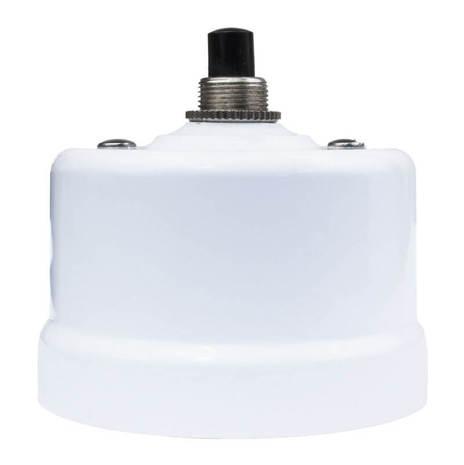 Выключатель импульсный BIRONI с кнопкой белый KN-01 Белый