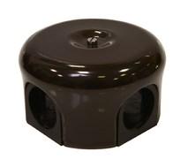 Lindas Распределительная коробка  d 78mm цвет коричневый 33012