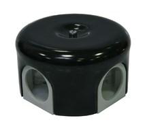 Lindas Распределительная коробка  d 78mm цвет черный 33015