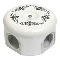 Lindas Распределительная коробка  d 78mm декор №4 33020