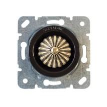 CLDMBL Выключатель с регулятором яркости для внутреннего монтажа (диммер), черный