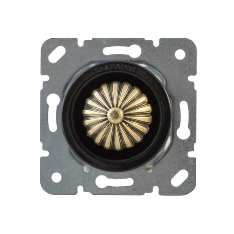 CLDMBR Выключатель с регулятором яркости для внутреннего монтажа (диммер), коричневый
