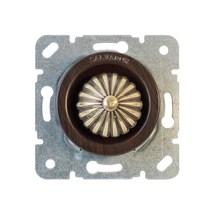 CLDMWG Выключатель с регулятором яркости для внутреннего монтажа (диммер), венге