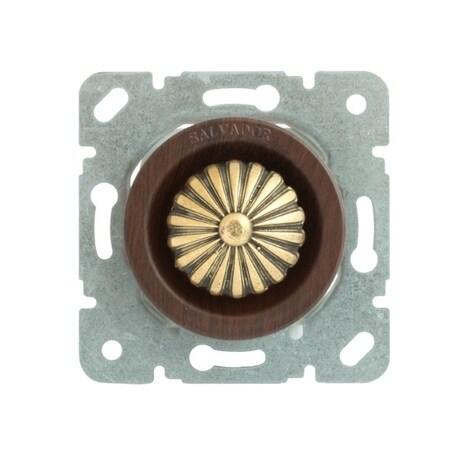 CLDMCH Выключатель с регулятором яркости для внутреннего монтажа (диммер), вишня