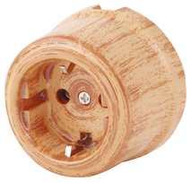 080-521 Розетка Оранж Файбер электрическая керамическая. С заземляющим контактом.240V, 16A.