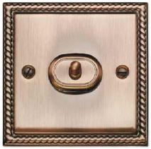 Выключатель 1-кл (проходной) тумблерный TJ Electric СМЕ201-02-MBR