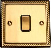 Выключатель 1-кл (проходной) TJ Electric СМЕ2511-2-MBR