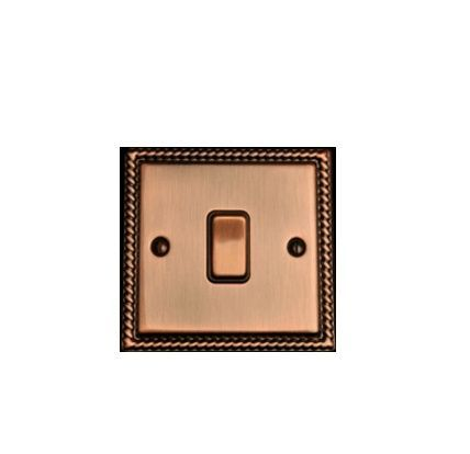 Выключатель 1-кл (проходной) возвратный TJ Electric СМЕ2561-2-АС