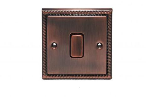Выключатель 1-кл (проходной) возвратный TJ Electric СМЕ2561-2-BZ