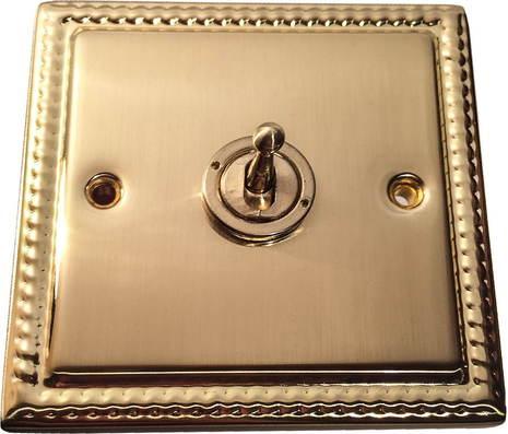 Выключатель 1-кл (проходной) тумблерный Balfour Grand D1000BB