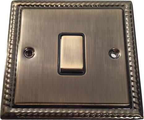 Выключатель 1-кл (проходной) Balfour Grand D3012AB