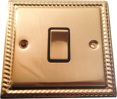 Выключатель 1-кл (проходной) Balfour Grand D3012BB