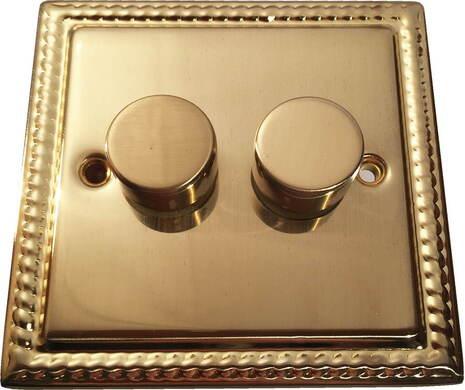 Двухклавишный светорегулятор проходной Balfour Grand D3505-22BB
