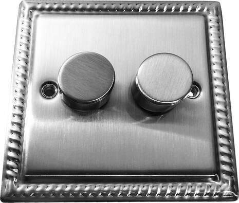 Двухклавишный светорегулятор проходной Balfour Grand D3505-22BC