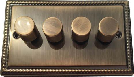 Четырёхклавишный светорегулятор проходной Balfour Grand D3505-42AB