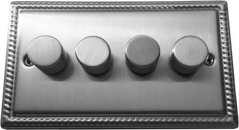 Четырёхклавишный светорегулятор проходной Balfour Grand D3505-42BC