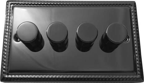 Четырёхклавишный светорегулятор проходной Balfour Grand D3505-42BN
