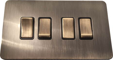 Четырехклавишный выключатель проходной Balfour Excellent E3042AB
