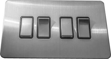 Четырёхклавишный выключатель проходной Balfour Excellent E3042BC