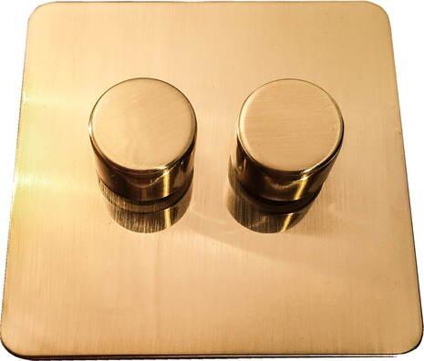 Двухклавишный светорегулятор проходной Balfour Excellent E3505-22BB