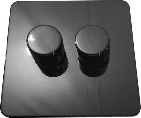 Двухклавишный светорегулятор проходной Balfour Excellent E3505-22BN