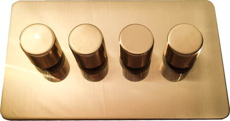 Четырёхклавишный светорегулятор проходной Balfour Excellent E3505-42BB