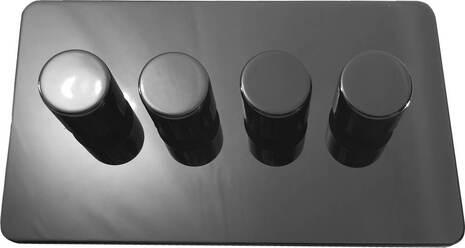 Четырёхклавишный светорегулятор проходной Balfour Excellent E3505-42BN